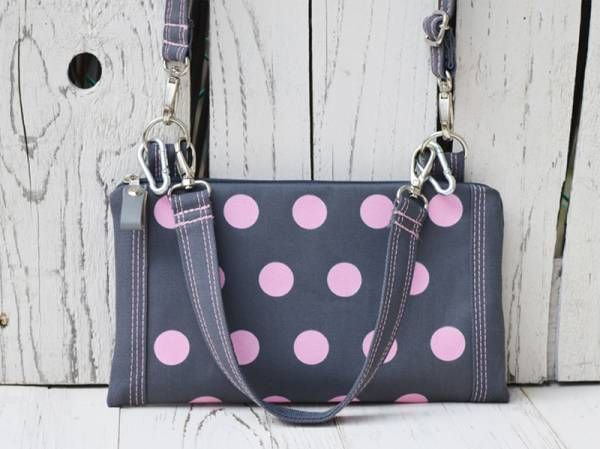 Pink Spotted Cute Bag
