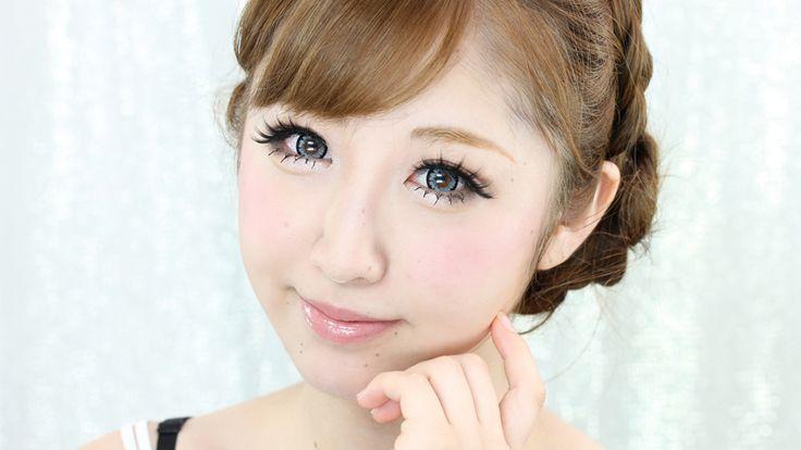 yahoo!ニュースで取り上げられるほど注目を集めた笹岡理華ちゃんの詐欺メイクのご紹介!  すっぴんからしっかりマット肌に仕上げていき、ぱっちりくっきり目になる過・・・涙袋の影は眉ペンシルの明るめの色を使うとぷっくりする。デート、女子会のメイク方法動画。SweetDaysの化粧品を使用。