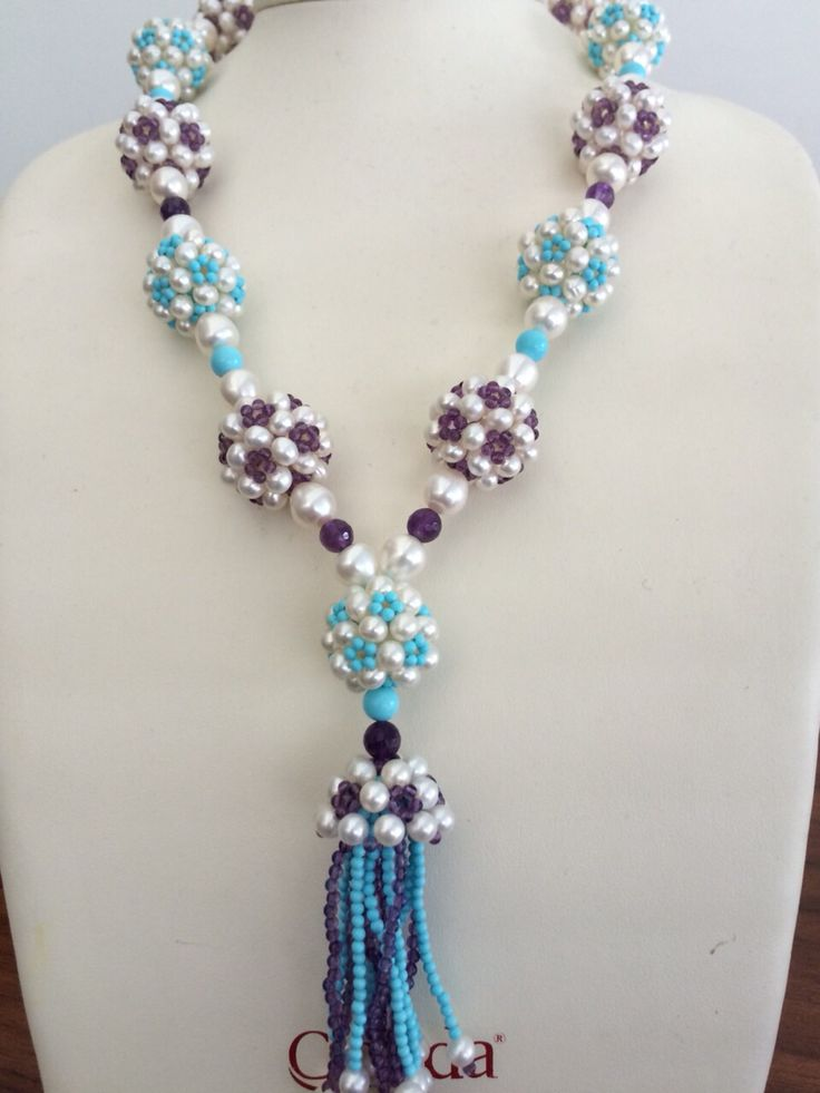 Turquoise/Garnet Necklace