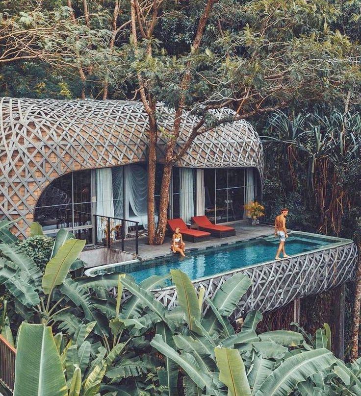 Absolutely fantastic design in Phuket! Nestles right amongst nature