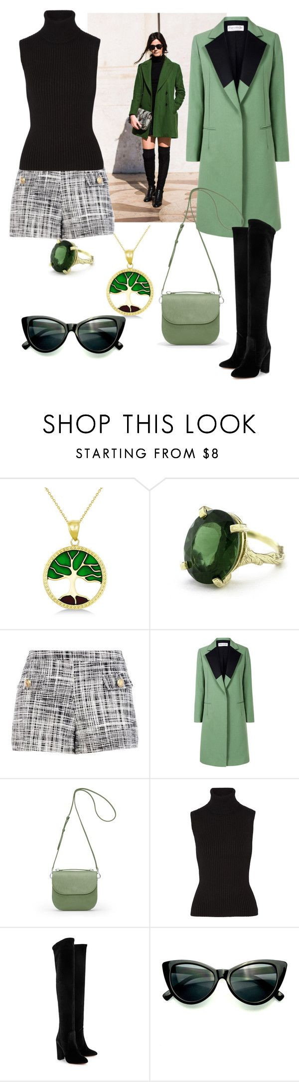 """""""Today is my favorite day"""" by riccio-25 ❤ liked on Polyvore featuring Allurez, Chupi, Boutique Moschino, Être Cécile, GRETCHEN, Michael Kors and Aquazzura"""