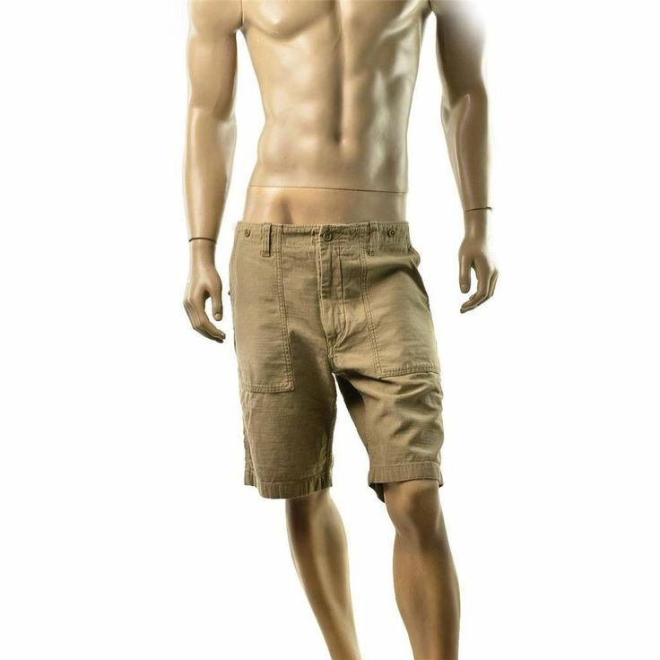 Diesel Shorts Mens Pectron Sho Vintage Bermuda Short Pants Size 34 $195 NEW #Diesel #CasualShorts