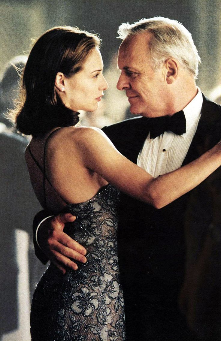 The part when father and daughter danced for the last time and she knew he was going soon. - Meet Joe Black