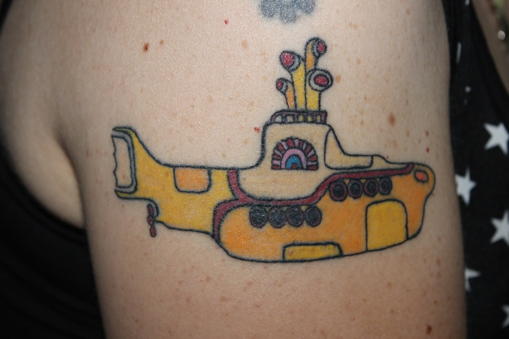 My new Yellow Submarine tattoo done by Danny Pennie from Radium ...