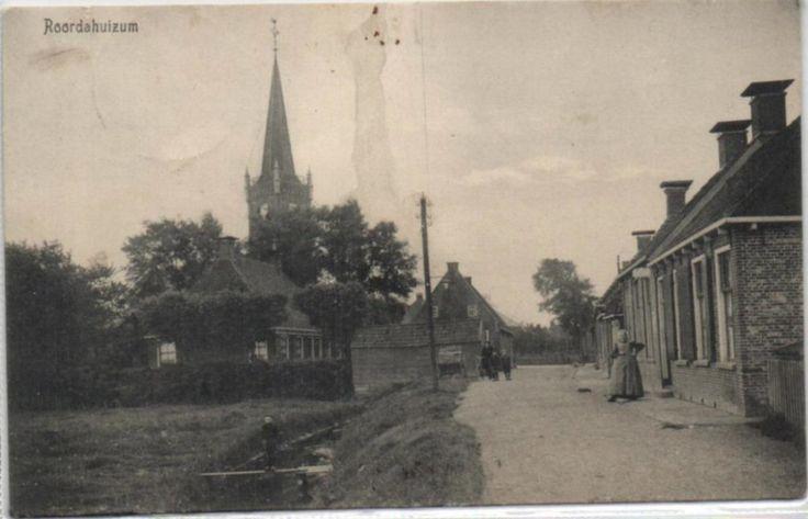 Roordahuizum - Legedyk - poststempel 1915 - Uitg. W. Jellema