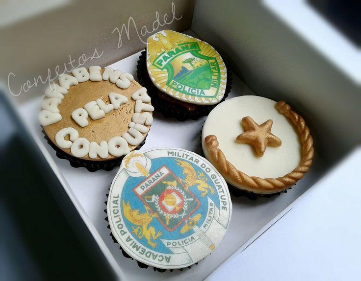 Militar cupcakes