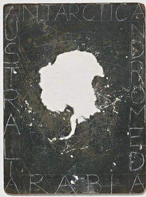 Detail of Godwin Bradbeer's Tabula Rasa, 2012.