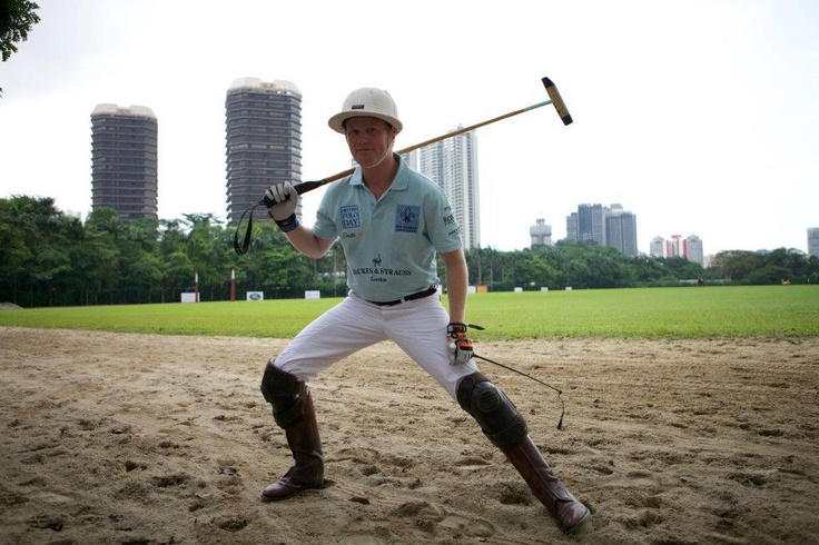 Backes & Strauss' polo champion ready for the game - Discover more on www.backesandstrauss.com