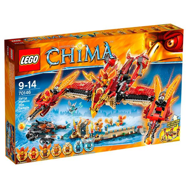 Lego Chima, Det flyvende føniks-ildtempel