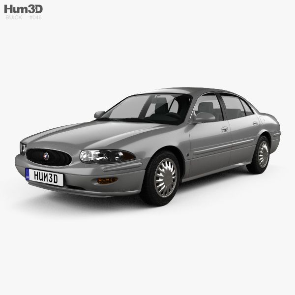 Buick LeSabre Limited 2000 3d model from Hum3d.com.
