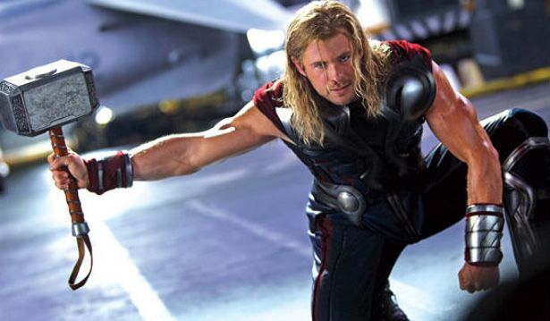 BONUS: I'd like to start by pointing out that Chris Hemsworth is a pretty big man. Here are some stats on him before we get anyfurther, and even a little secret of his post training... Height: 6'3 Weight: 195-210 Superhero Secret:Hemsworth gained so much bulk for the role, his costume didn't fit. Now I didn't completely state the obvious in the beginning of the post to instantly turn you off to this routine. I was mainly referring to his height, as his Superhero body is at...