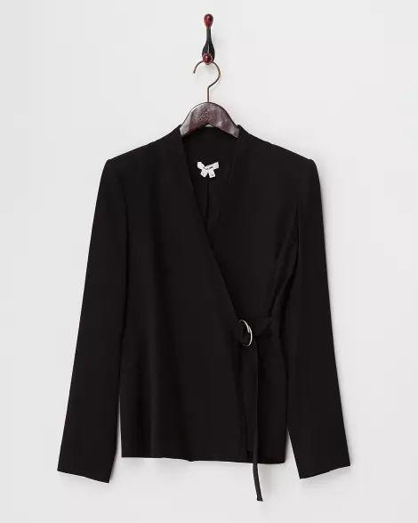 black REVOLVE SUIT ジャケット - ヘルムート ラング|[GLADD(グラッド)] - ブランド通販/セール 2017/6/1まで - 25949