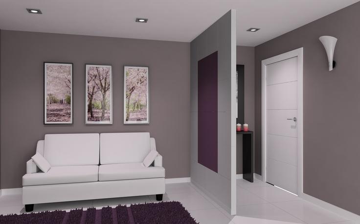 Decoraci n de interiores tabique separador de ambientes for Decoracion de interiores de departamentos 3 ambientes