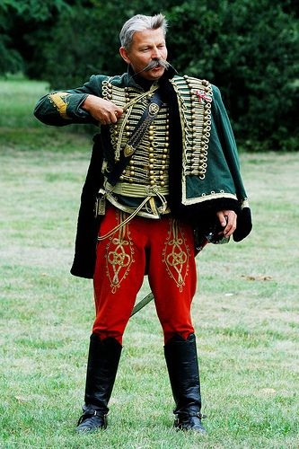 Magyar Huszár - Hungarian Hussar - Hungarian traditional clothing is probably the most flattering to the male physique
