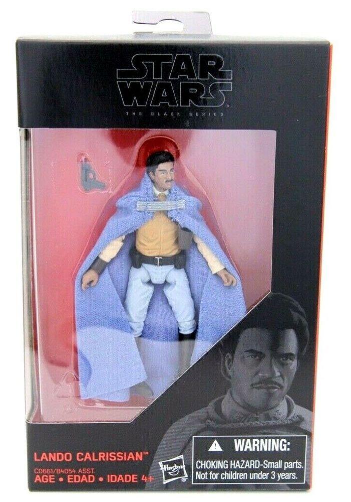 "Star Wars Hasbro 3.75/"" Black Series Lando Calrissian Action Figure"