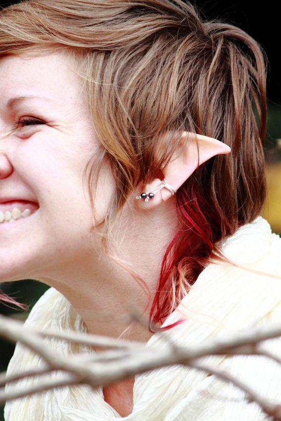 Custom Made Hobbit Pixie Fairy Elf Ears by TheElvenCaravan on Etsy, $20.00