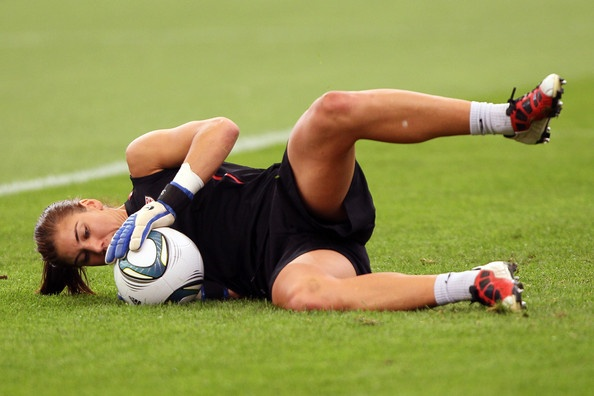 Hope Solo Photo - USA Press Conference & Training - FIFA Women's World Cup 2011