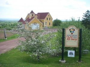 Magnetic Hill Winery Bed & Breakfast in Moncton, New Brunswick, Canada