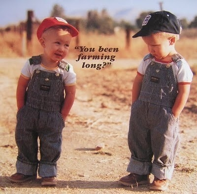 Overall, these ranch hands wear the pants on this farm.Remember This, Country Boys, Farms Long, The Farms, Growing Up, Pictures, House, Kids, Little Boys