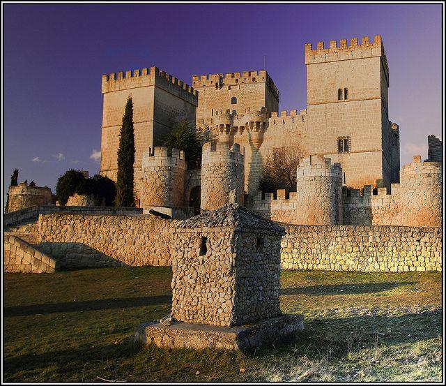 Castillo de Ampudia, Palencia