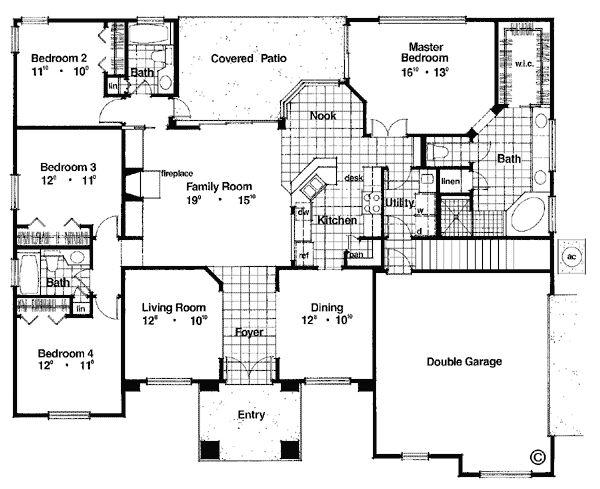 Elegant House Plan Chp 38136 At COOLhouseplans.com