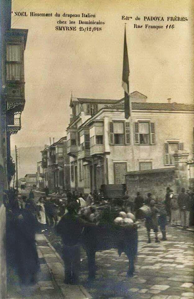 ✿ ❤ Bir Zamanlar İZMİR, Smyrne, 25 Aralık 1918