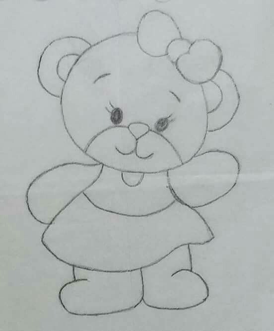 Quiet book teddy bear bow girl тиха книжка мече с панделка за момиче