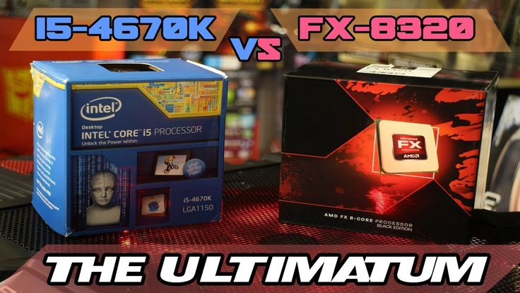 FX-8320/FX-8350 vs i5-4670k - The ULTIMATUM - Gaming and Streaming Bench...