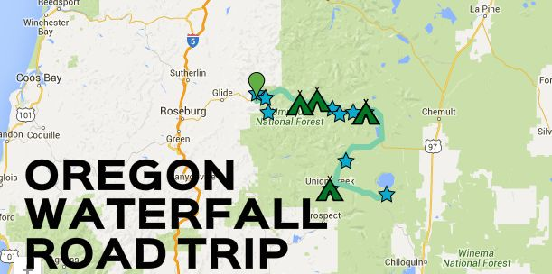 This waterfall road trip in Southern Oregon will quench your thirst for adventure this summer.