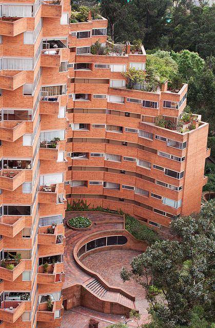 LA MACARENA, The modern Torres del Parque by Rogelio Salmona.