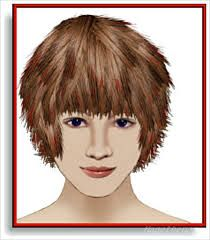 Image Result For Short Layered Bangs Shaggy Bob Haircuts