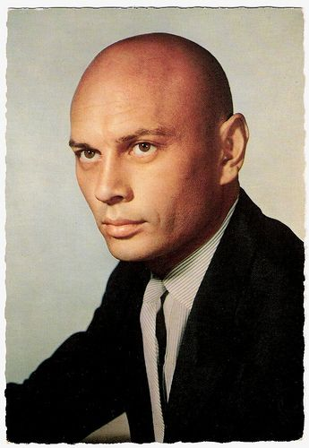 """Yul Brynner (aka Yuli Borisovich Bryner0 (1920 - 1985) Know for """"The Magnificent Seven"""" 1960, """"The Ten Commandments"""" 1956."""" """" The King and I"""" 1956, """"Westworld"""" 1973 - Oscar for """"King and I"""" 1957 - Requiescant in pace"""
