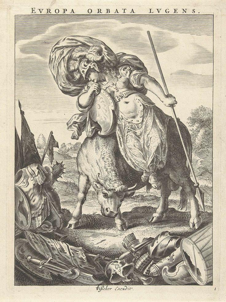 """Europa Orbata Lugens"" by Cornelis van Dalen"