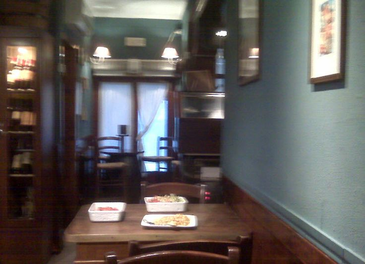"""""""Le Due Spade"""" osteria in Rialto area: the cozy interiors- a touch of """"shabby style"""""""