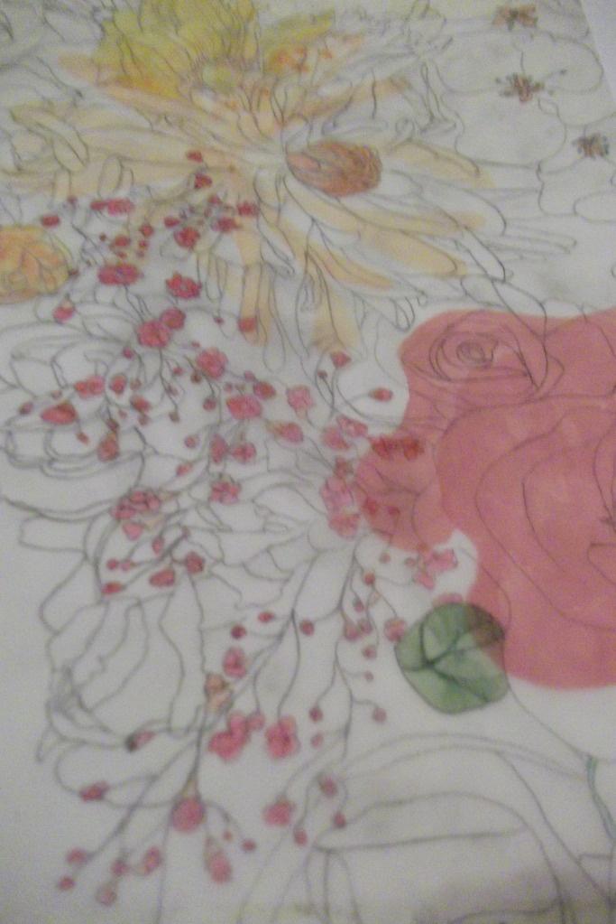 watercolour layering