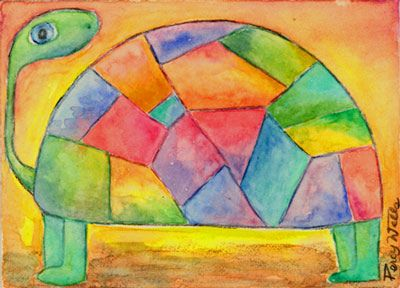 ACEO - Turtle - aceo#138 | Flickr - Photo Sharing!