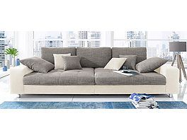 Big sofa, available with RGB LED lighting, Energy Efficiency: A possible price in www.cnouch.de Store