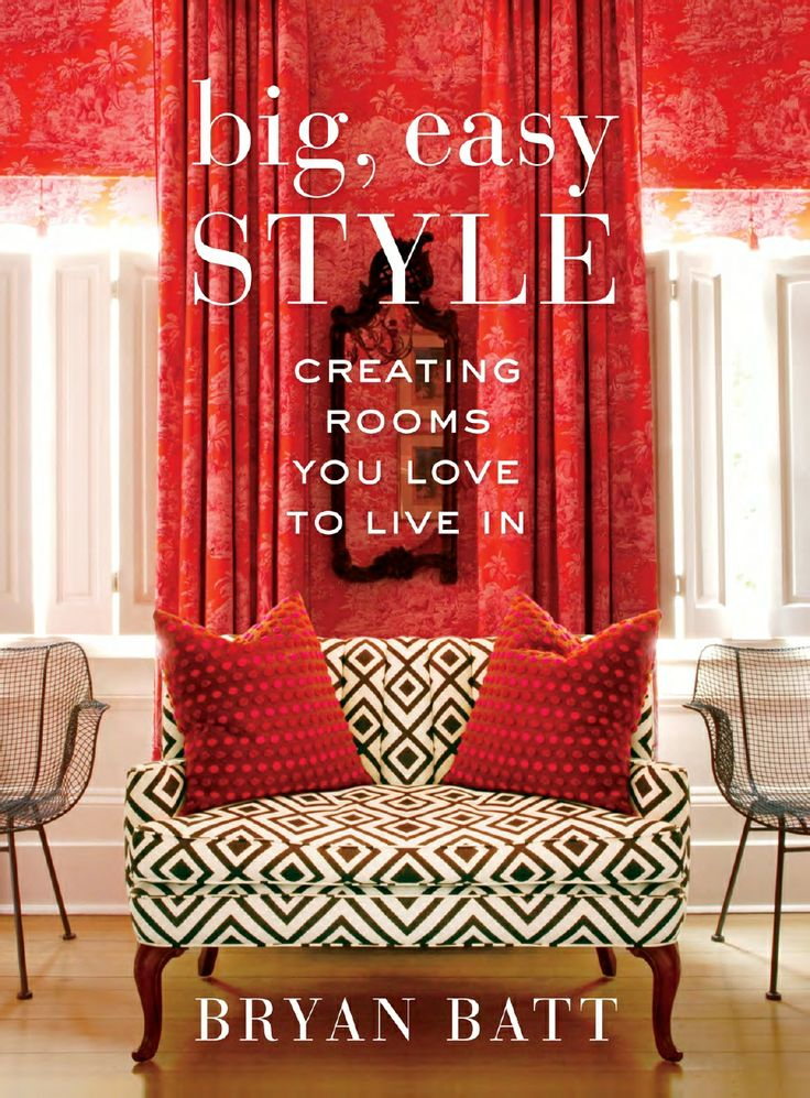 WIN THIS! Pin an image of an interior or design element in your home to our Pin It to Win It! board and be entered to win BIG, EASY STYLE and 4 other design books! Comment to be added to the board so you can pin your image.