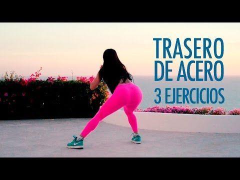 12 SIMPLES EJERCICIOS Para Aumentar Los Glúteos Rápidamente y Tonificar Piernas sin ir al Gimnasio - YouTube