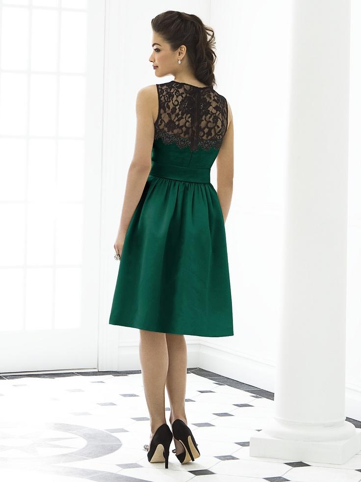 17 mejores ideas sobre vestidos de dama de honor de color - Colores verdes azulados ...