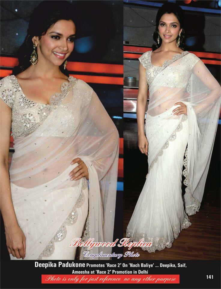 Deepika Padukone Net Lehenga touch Saree  Order here - http://rajasthanispecial.com/index.php/womens-collection/bollywood-saree/deepika-padukone-net-lehenga-touch-saree.html  Price - USD 77