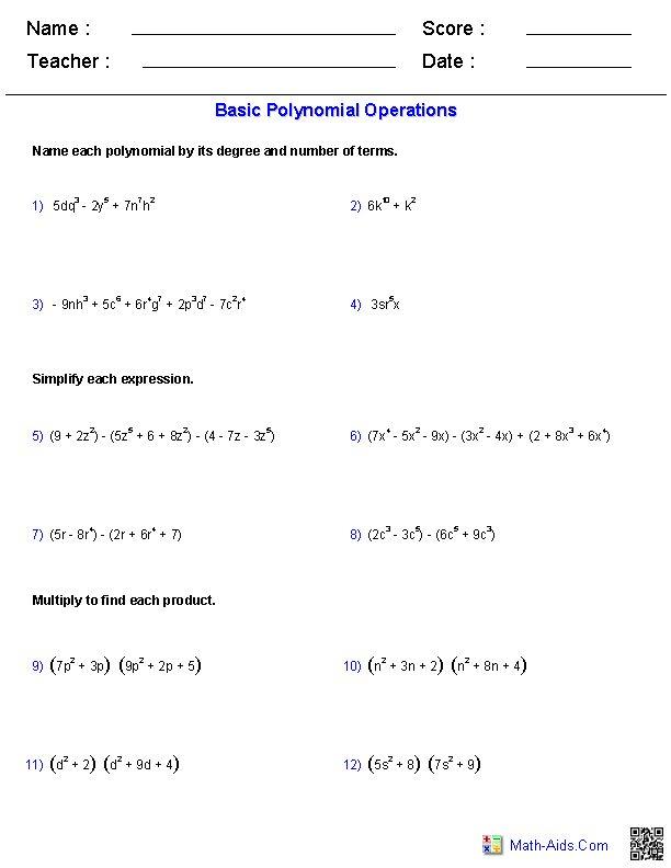 Math Functions Worksheets aprita – Algebra Functions Worksheets