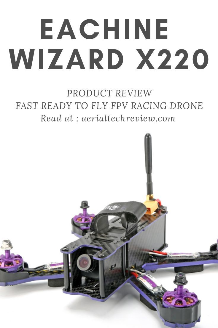 Eachine Wizard X220, Ready to Fly, FPV Racing Drone, Camera Drone