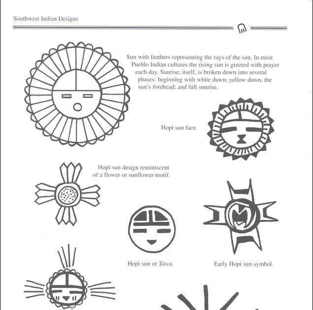 Native American Gallery: Native American Indian Symbols ID-004
