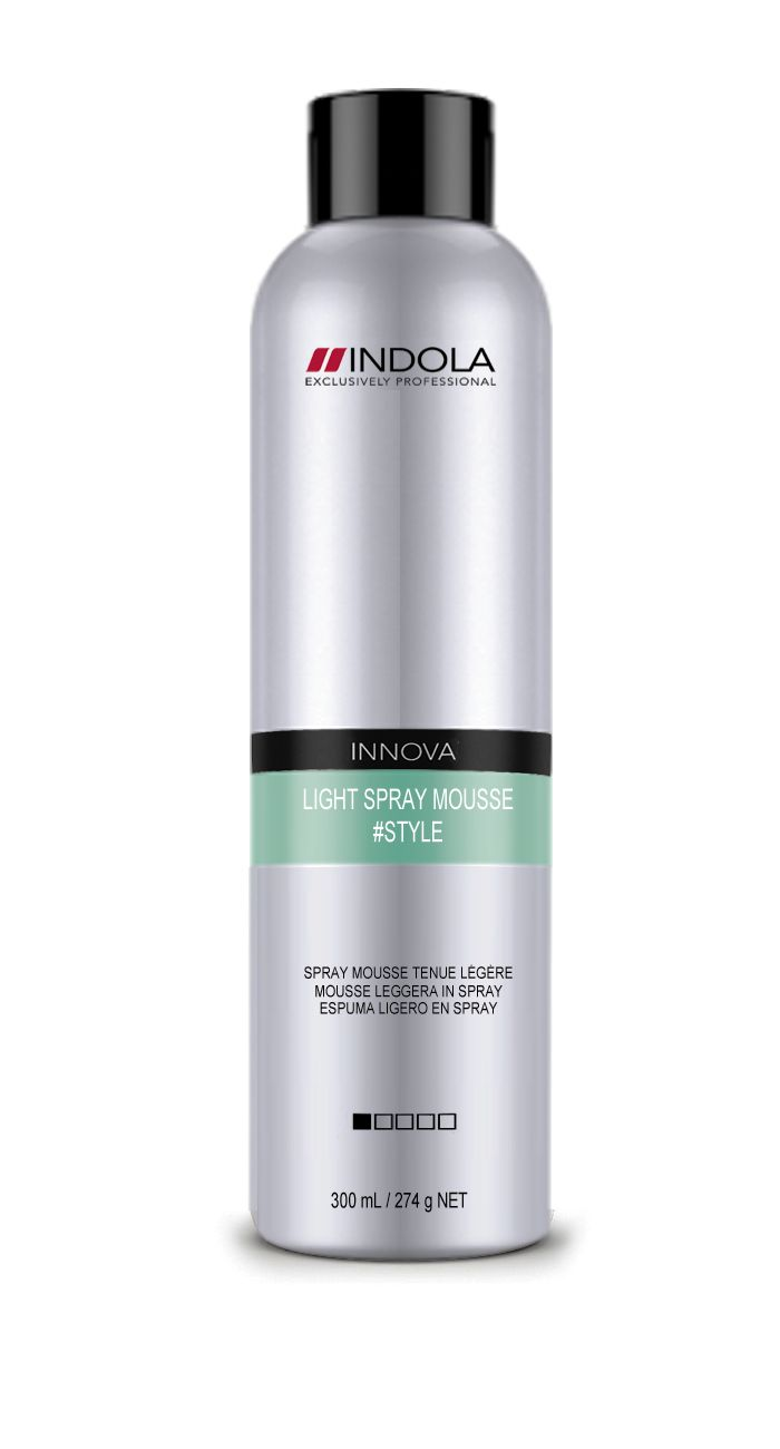 Indola Innova #Style Light Spray Mousse 300ml.