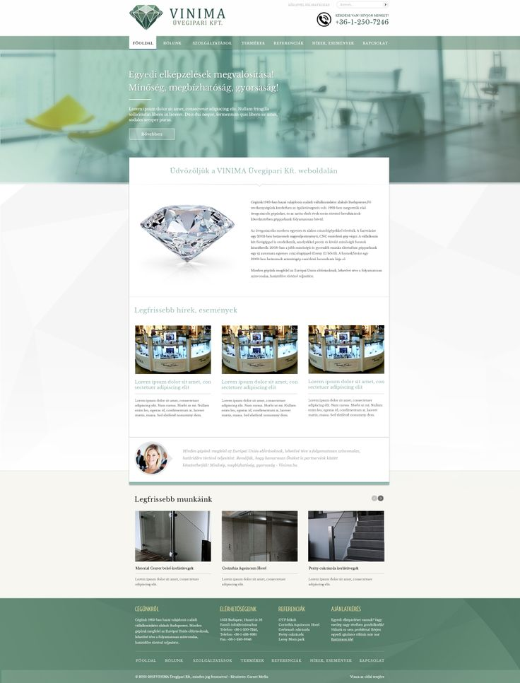 new http://www.vinima.hu website design