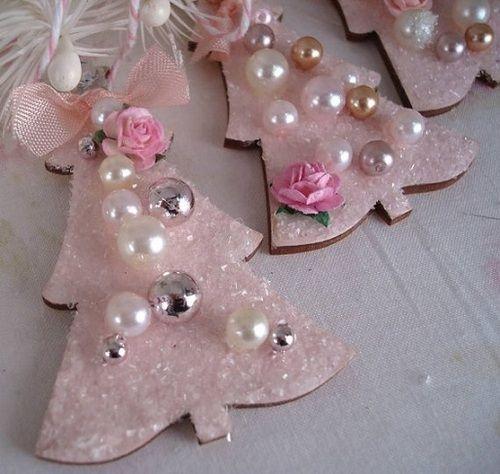 Pinterest Felt Xmas Tree Decorations