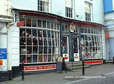 Tea and Coffee House ~ Falmouth, Cornwall