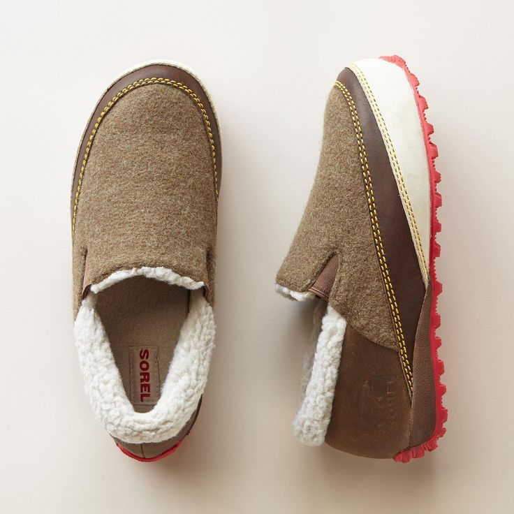 from Colehaan · MACKENZIE SNOW SLIP-ONS BY SOREL -- Out of Alaska comes the  snowmobile reincarnated