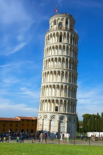 The Leaning Tower, Pisa, Italy. I adored this city. The cathedral across is just as amazing.